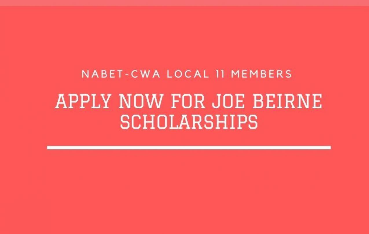 Joe Beirne Scholarships
