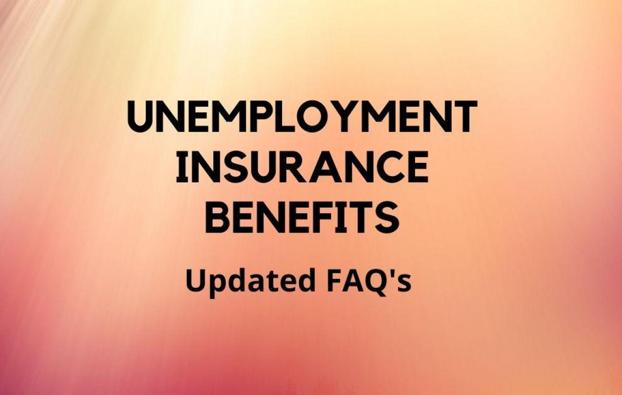 Updated Unemployment Insurance Benefits